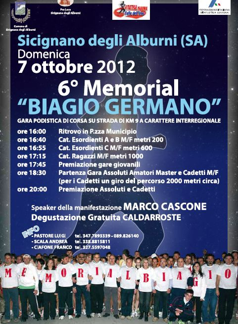 6° Memorial Biagio Germano
