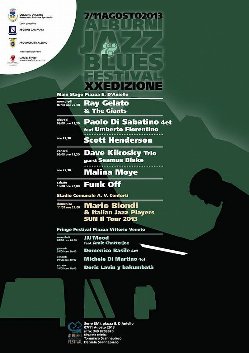 Alburni Jazz & Blues Festival 2013
