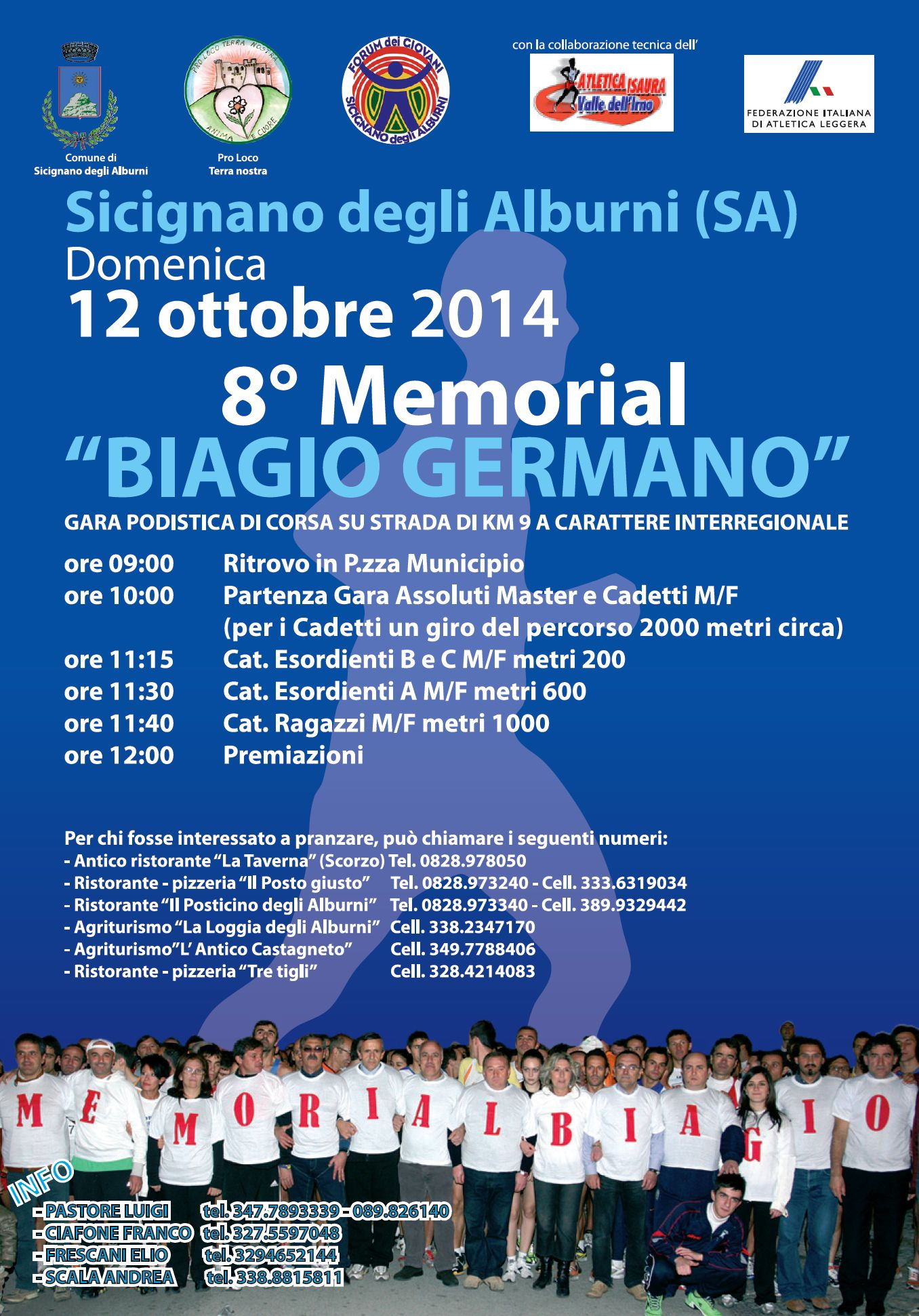 8 Memorial Biagio Germano